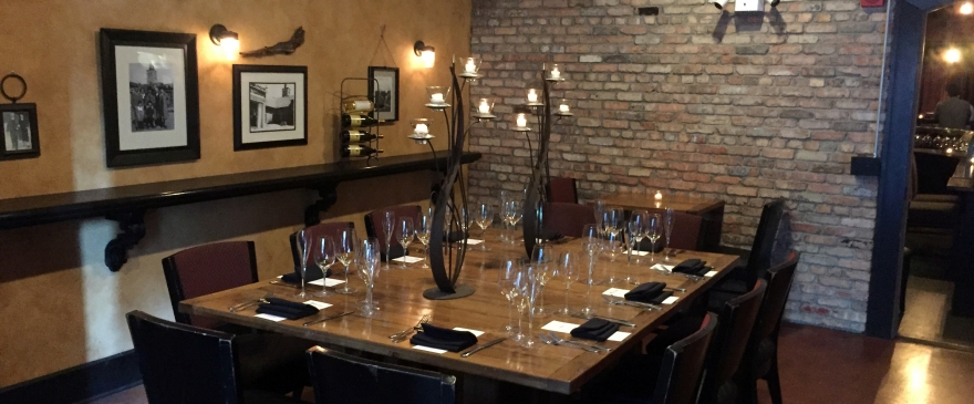 Barrel Room Wine Dinner